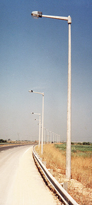 reinforced concrete Lighting Columns